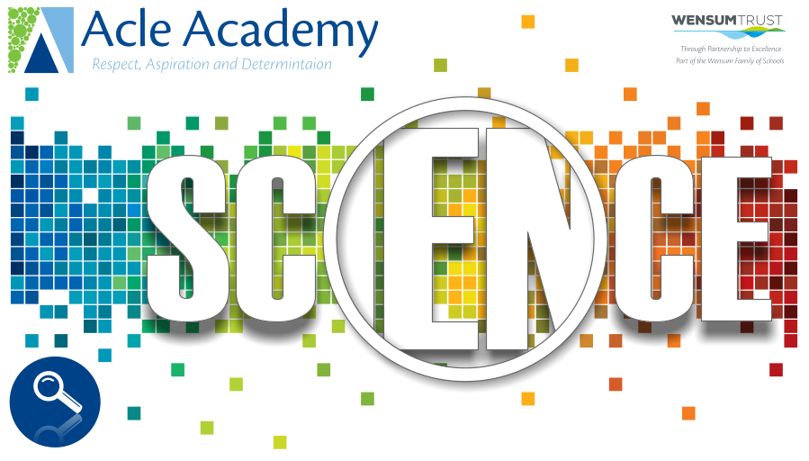 Acle Academy Banner Science