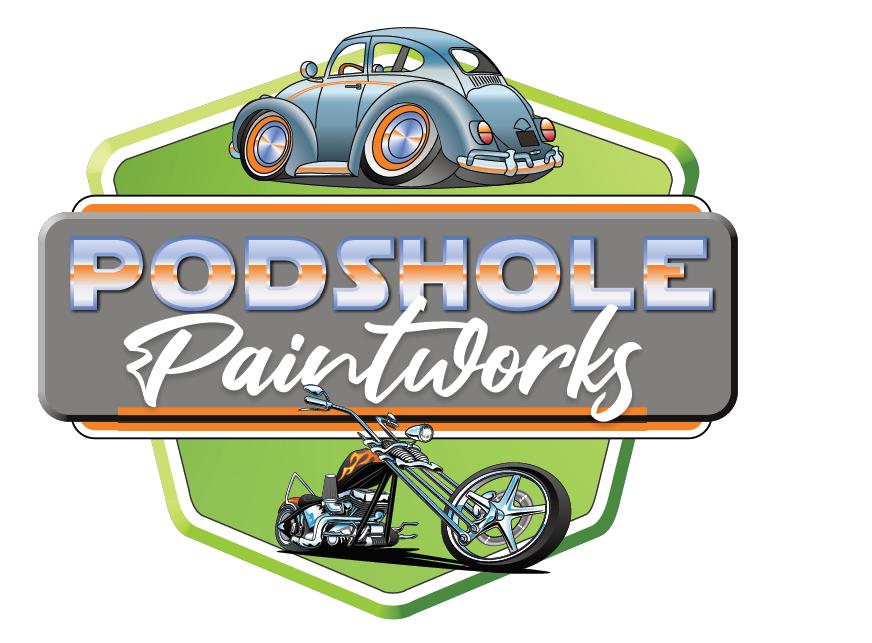 Podshole Paintworks Logo