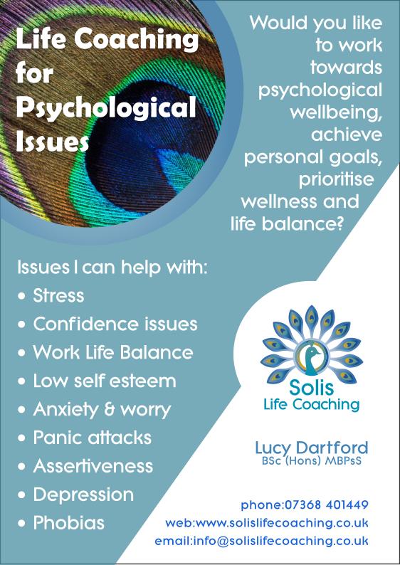 Solis Life Coaching Flyer